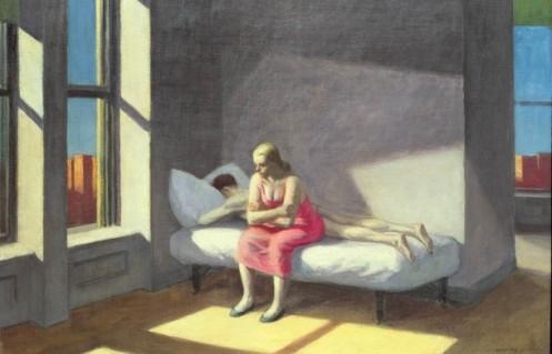 "Edward Hopper, ""Summer In The City"" (1949)"
